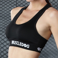 Women Bra Fitness Shockproof Wireless Black White Push Up Bras Quick Dry Casual Sporting Tanks Vest