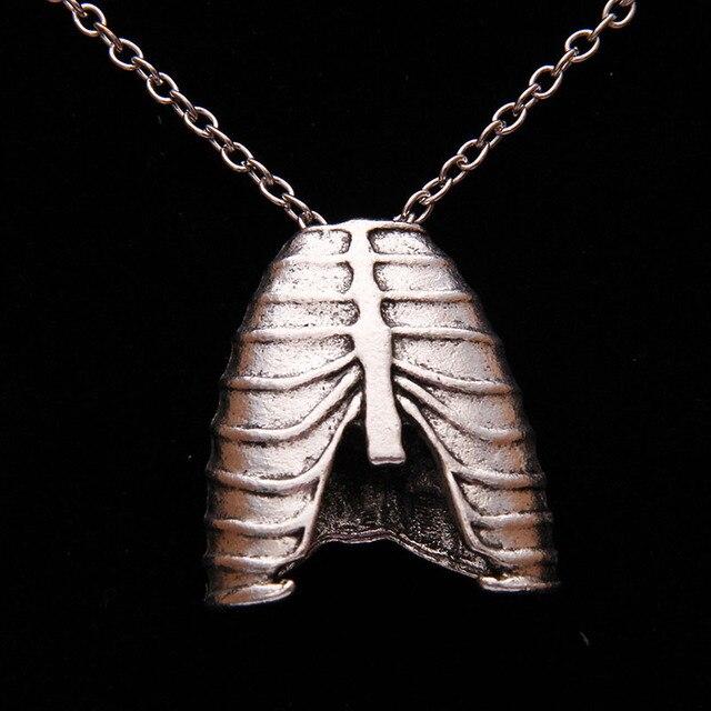 6 unids/lote) Personalidad anatomía anatómico costilla humana jaula ...