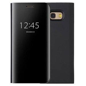 Image 2 - Flip כיסוי מראה טלפון מקרה לסמסונג גלקסי S9 בתוספת S8 S7 קצה S6 הערה 8 5 מקסימום A8 2018 j7 J5 J3 2017 האיחוד האירופי A5 A3 A7 J730 Note8