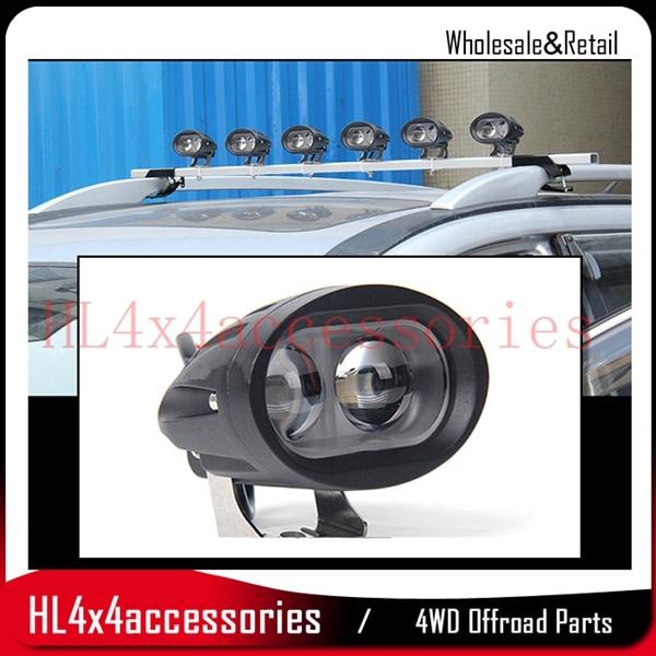 Светодиодные работы 20 Вт Spotlight 4D 20 Вт 6500 К 8000lm автомобиля stying для вождения грузовик внедорожник дороге автомобиль пятно света 12 В луч светоди…