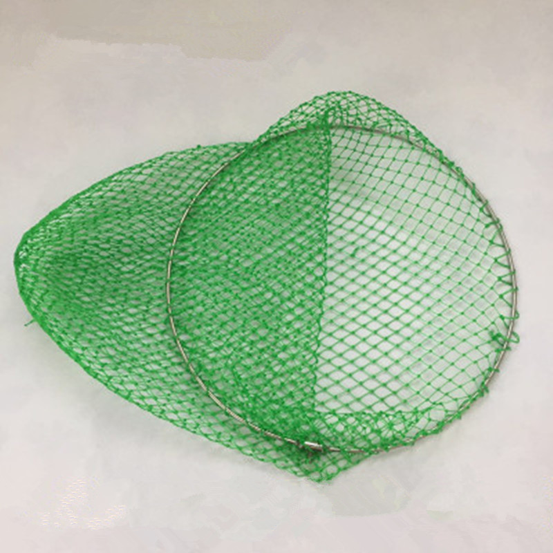 Radient Diameter 40cm-50cm Thick Strong Dip Net Fishing Network Rede De Pesca Outdoor Tool Tuck Net Of Head Brail Net Spoon Accessories Fishing Accessories Sports & Entertainment