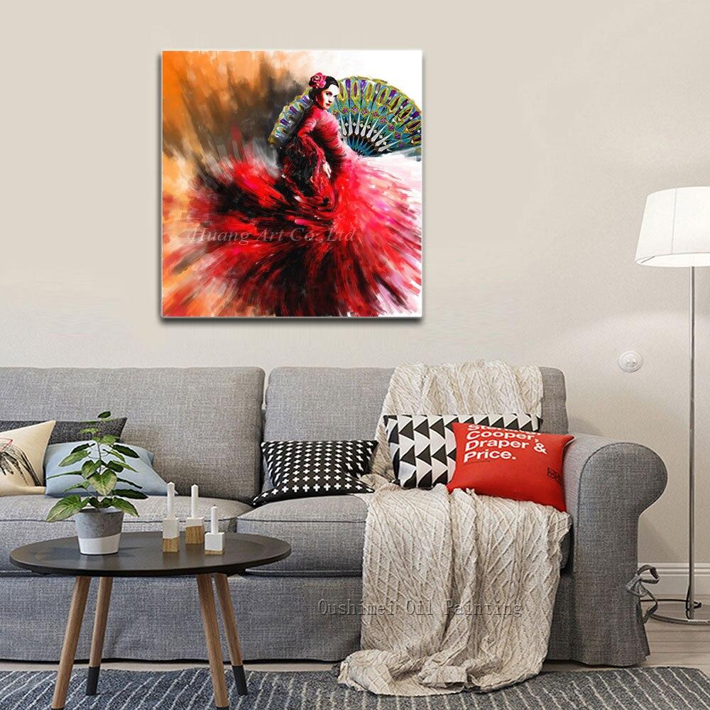 aliexpress com buy wholesale hand painted high quality flamenco