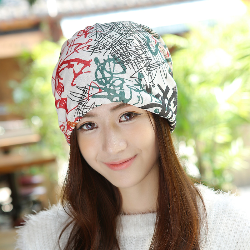 Hot Selling Casual Women Beanie Hat Turtleneck Cap Multifunction Neck Scarf Winter Hat