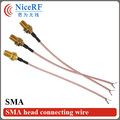 5pcs/lot connecting cable for SMA interface rf SW433-SMA20 433MHz SMA head extension cord