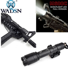 WADSN Surefir Airsoft M600 Tactical Scout Light LED 340 Lumens Remote Pressure Switch M600C Rifle Flashlight EX072 Weapon Light