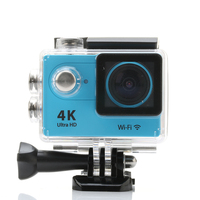 Ultra HD 4K WIFI Sports Action Camera 1080P 2 0 Inch LCD Display 12MP 170D Wide