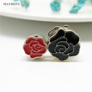 Image 5 - XT165 Fashion Small Size  Flower Brooches Pin Scarf Buckle Metal Muslim Headwear Abaya Khimar Magnetic Hijab Scarf Magnet