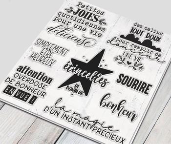 Francuski przezroczysty przezroczysty pieczęć silikonowa uszczelnienie do DIY scrapbooking album fotograficzny dekoracyjne jasne pieczęć A1725 tanie i dobre opinie GONGZHIQIAN Dekoracji Standardowy znaczek RUBBER