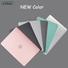 New color laptop Case For Apple macbook Air Pro Retina 11 12 13 15 For Mac book 13.3 inch with Touch Bar +Keyboard Cover