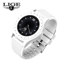 Get more info on the LIGE Smart Watch Men Women Sport Fitness Watch LED Touch Screen Support SIM TF Card Bluetooth Clock for Android IOS reloj hombre