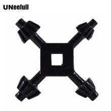 1 stück 4 in 1 Multi-funktion Universal Chuck Key Bohrer Bohren Halter Spanner Schlüssel Ratchet Sockel Ring Kombination grip Stern Wrench