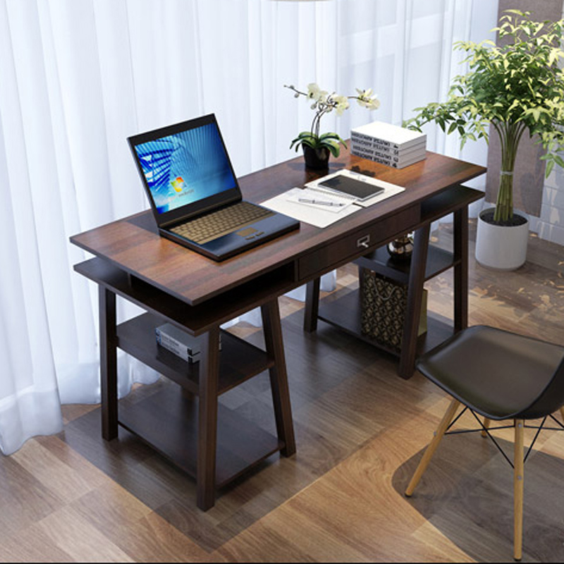 IKEA home desktop computer desk desk simple desk study tables Japanese minimalist modern bedroom ...