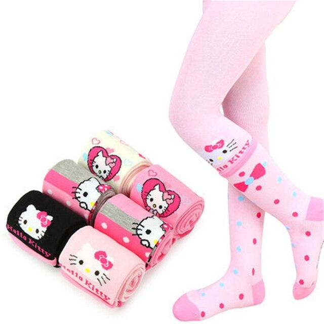 Kids Girls Baby Soft Pantyhose Ballet Dance Stocking Baby Clothing Tights Girl Cartoon Girls Pantyhose Kids Infant 70D0626