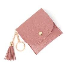 Tassel Leather Womens Wallet