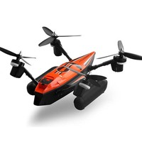 Wltoys Q353 Air Land Sea 3in1 Triphibian RC Mode Remote Control Helicopter 2 4G Headless Mode