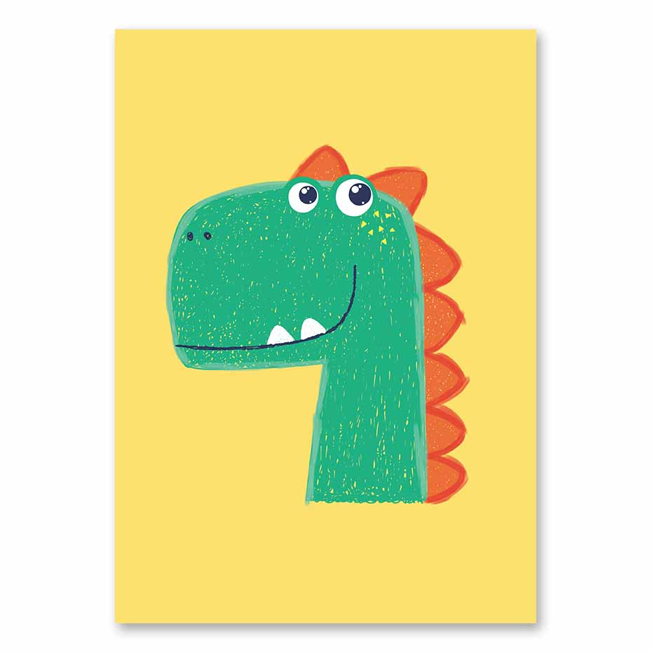 Magnificent Kids Dinosaur Wall Art Adornment - The Wall Art ...