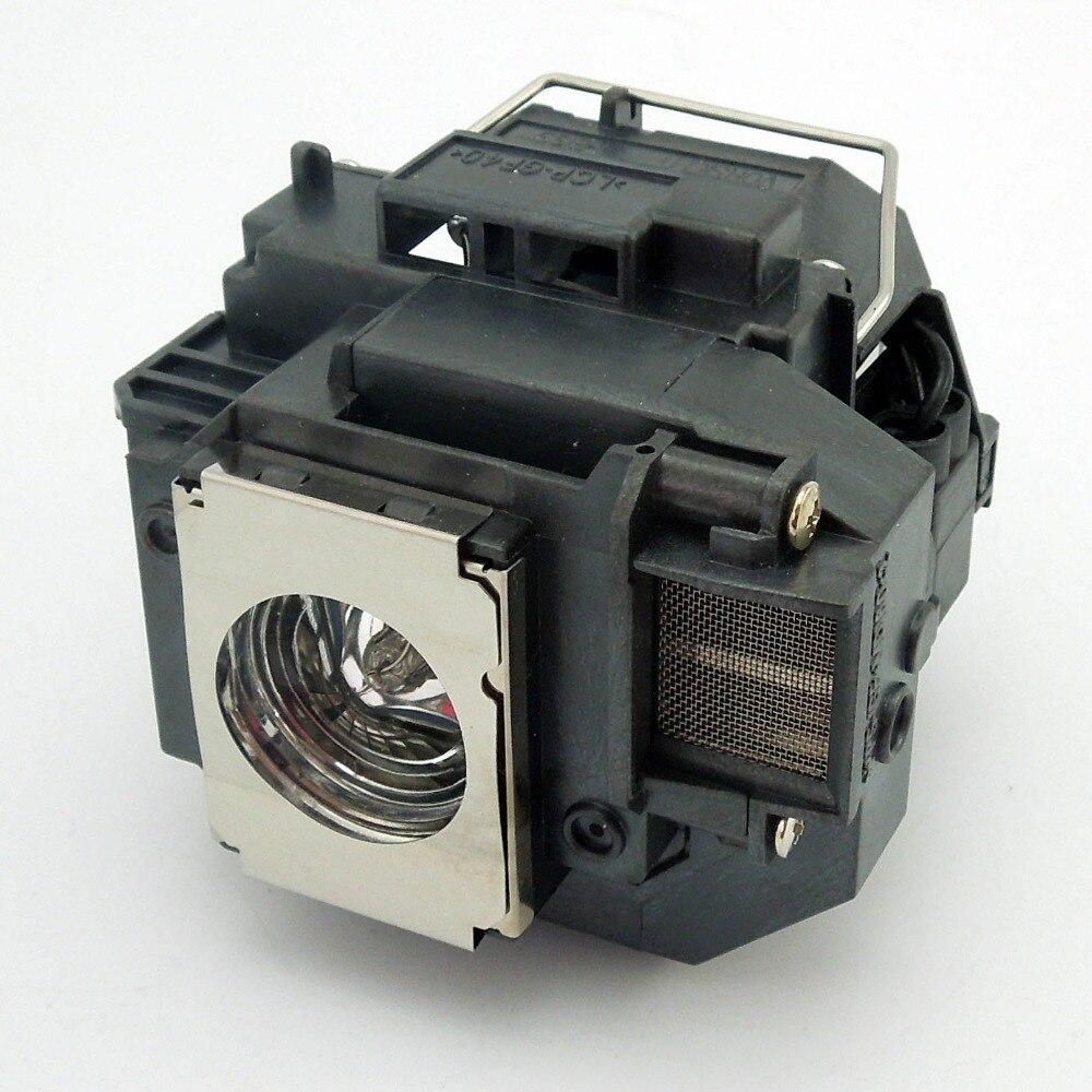ФОТО Projector lamp ELPLP58 / V13H010L58 for EB-S10, EB-S9, EB-S92, EB-W10, EB-W9, EB-X10 with Japan phoenix original lamp burner