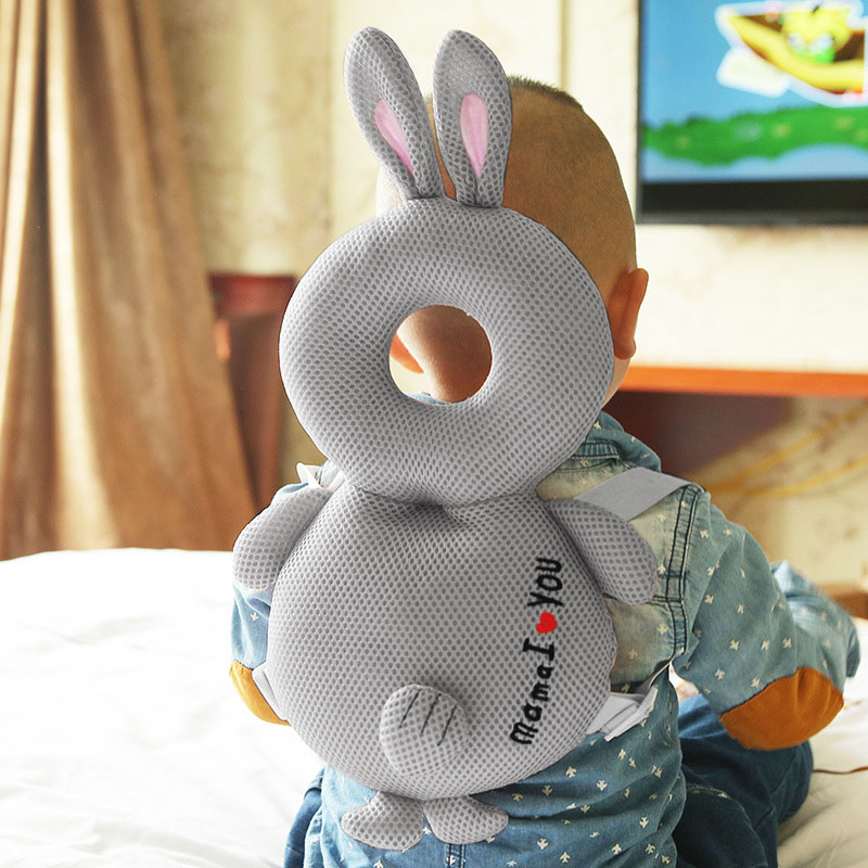 Baby Walking Protective Pillow Head Protection Pillow Mesh Cotton Cushion Shockproof Anti-falling M09