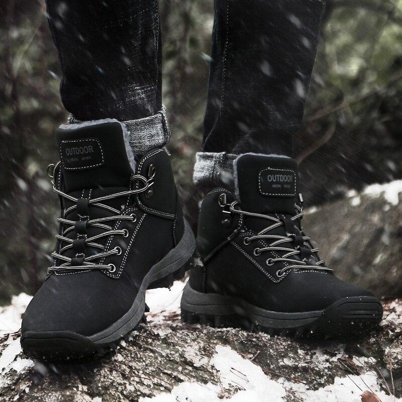 Initiative Männer Stiefeletten 2018 Vintage Stil Männer Schuhe Casual Mode Mann Schuhe Schnee Stiefel Männer Hh-874 Schuhe Herrenschuhe