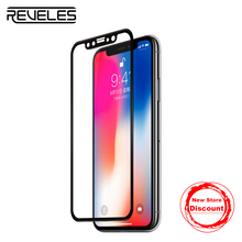 REVELES HD Invisible Tempered Glass For iPhone X 3D Full Cover Curved Protective Film Dust-Proof Screen Protector For iPhone 10