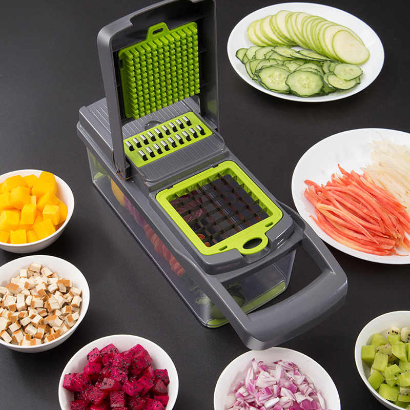 Vegetable Cutter Kitchen accessories Mandoline Slicer Fruit Cutter Potato Peeler Cheese Grater vegetable slicer Food Processor