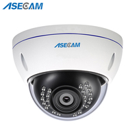 Super HD 1080P IP Camera H.265 Security Home 2MP IMX323 indoor Explosion proof Metal Dome Waterproof cam CCTV Onvif P2P 48V POE