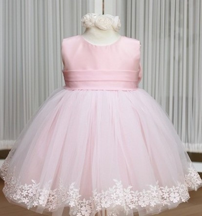 50% OFF!2014 new girl's princess wedding dress female Children's one-piece baby girl year party ball flower - Super-Mom store