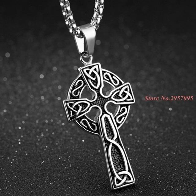 Aliexpress buy cross pendant with gold jesus pieceeastern cross pendant with gold jesus pieceeastern orthodox jesus cross pendant in stainless steel aloadofball Gallery