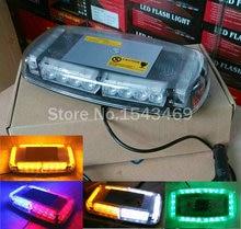 Lámpara del Techo del coche led Parpadeante luz Estroboscópica led Luz de Emergencia de Nueva CC 12 V 24LED