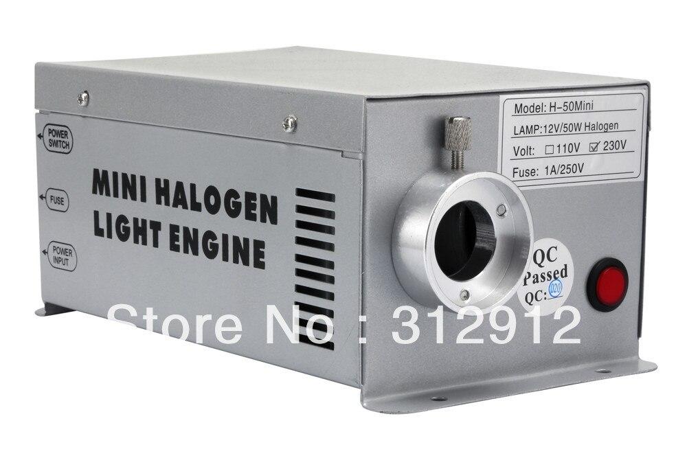 H 50, 50 w Mini motor de luz Halógena; com RF remte