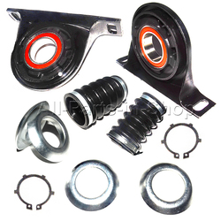 AP02 para dla Mercedes Sprinter wał napędowy centrum wsparcia łożyska R & z przodu 68031835AA 68031836AA 9064100381 9064100781 2007 2009|center support bearing|center driveshaft bearingfront rear -