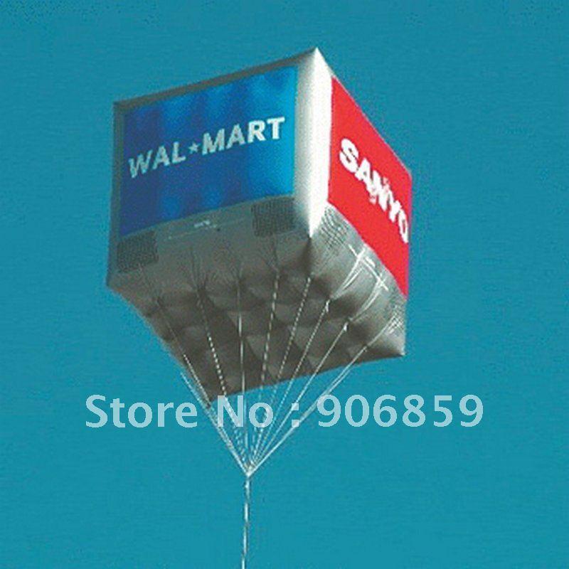 2 м большой надувной гелиевый рекламный шар надувной шар «Квадрат» для вас