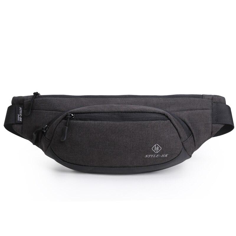 HK Waist Bags Men S Casual Waist Pack Purse Mobile Phone Case For Men S Travel