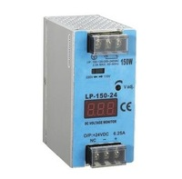 ac to dc LP 150 12 150w 12v 12.5a din Rail Digital display led driver source switching power supply