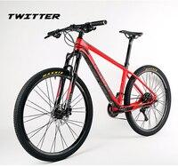 2018 27.5er ألياف الكربون كاملة الدراجة الجبلية الدراجة عجلات الألمنيوم الأسود للبيع bsa M7000 slx 22 أو 33 سرعات OG-EVKIN