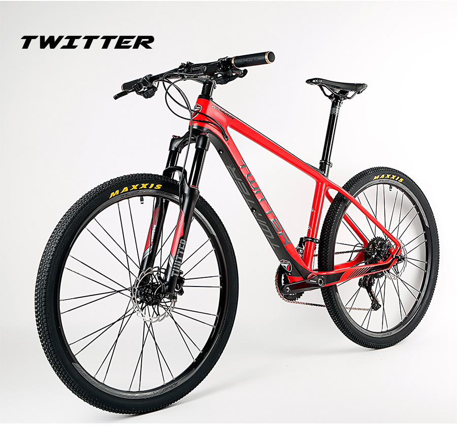 OG EVKIN Hot Selling 2017 Black Full Carbon Fiber Complete Mountain 27 5ER Bike For Sale