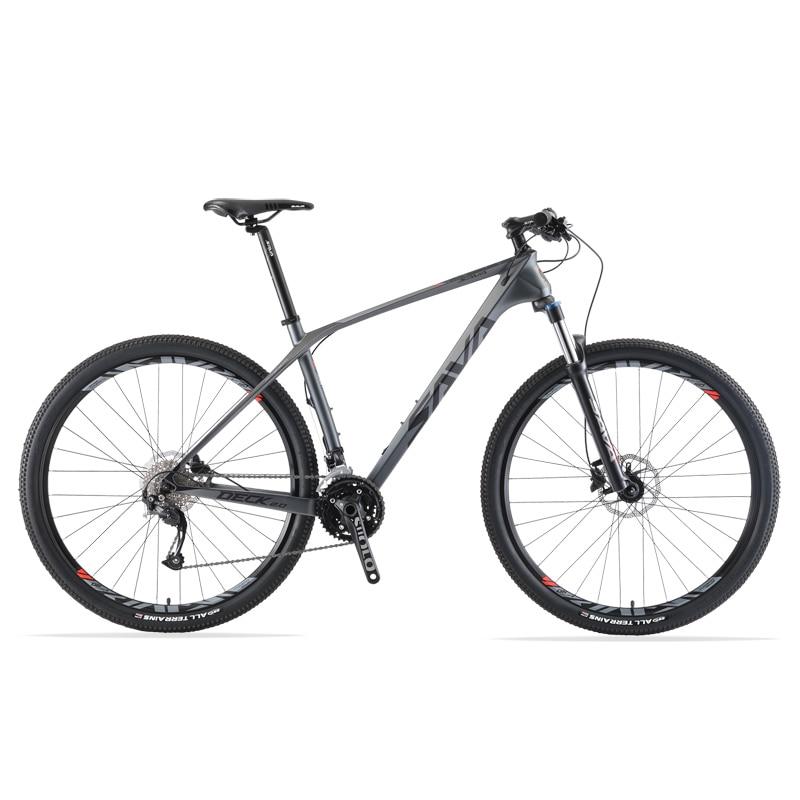 VTT 29 vtt 29/27.5/26 pouces carbone VTT vtt 29 vtt hommes avec SHIMANO 27 vitesses vtt bicicleta 29
