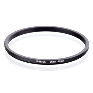 Image 1 - RISE(UK) 86mm 82mm 86 82mm 86 to 82 Step down Ring Filter Adapter black