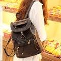 Morrales mulheres mochila feminina de couro PU mochilas para meninas adolescentes do sexo feminino saco de cordão mochila escolar bagpack bolsos