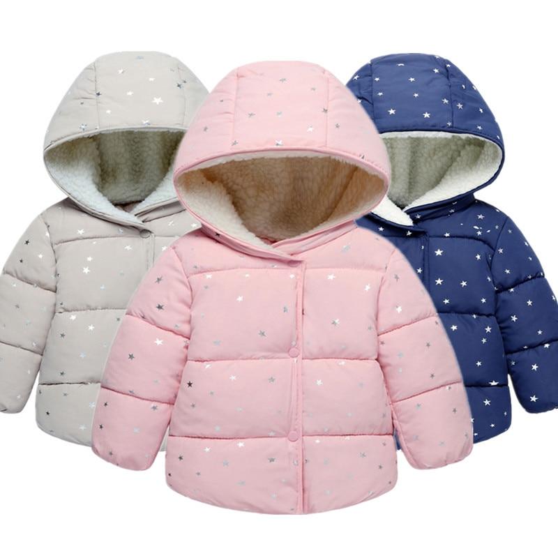 info for 2c127 3d0da Baby Mädchen Mantel & Jacke Kinder Oberbekleidung winter Mit Kapuze mäntel  Winter Jacke Mode Kinder Mantel kinder Warme Mädchen kleidung