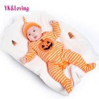Dziewczyny Suwaki Romper Kombinezony dla dzieci Halloween Odzież Baby Boy Ubrania dla Noworodka 0-24 miesięcy bawełny Z Długim Rękawem garnitury