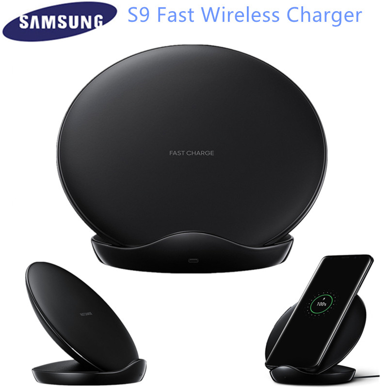 Samsung S10 Wireless Charger Pad For Galaxy S9 S8 Plus S7 edge Note 10+ 9/iPhone 8 Plus X, 10W Qi Fast Charging Stand EP N5100-in Mobile Phone Chargers from Cellphones & Telecommunications