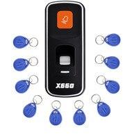 Biometric Fingerprint Access Control System and 3000 RFID Identification Fingerprint Reader Sensor+10pcs Key Card