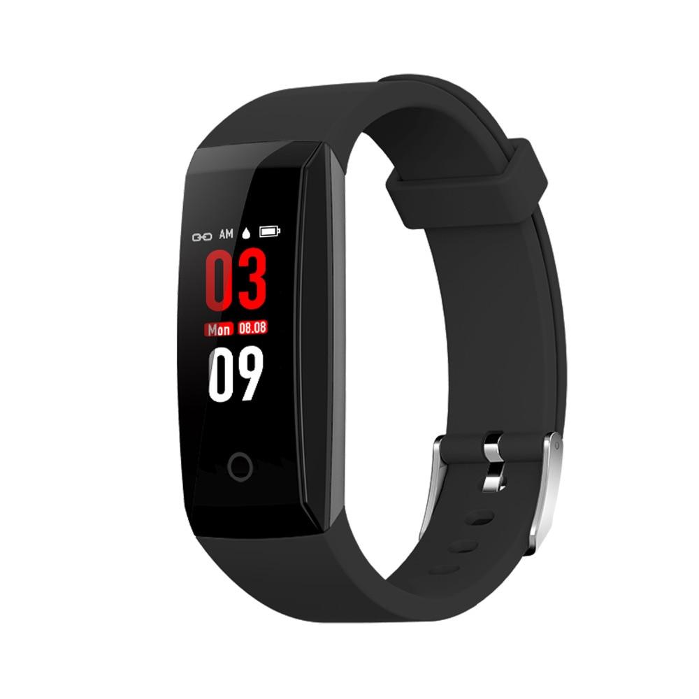 W8 Bluetooth Smart Wristband Android IOS Waterproof Fitness Tracker Heart Rate Monitor HR Wrist Watch Smart Sport Bracelet