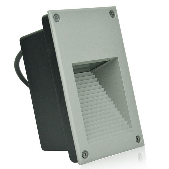 Free Shipping 9W Led Corner Lamp Recessed Stair Floor Lights Led Concave Lamp Focos Ledde Piso