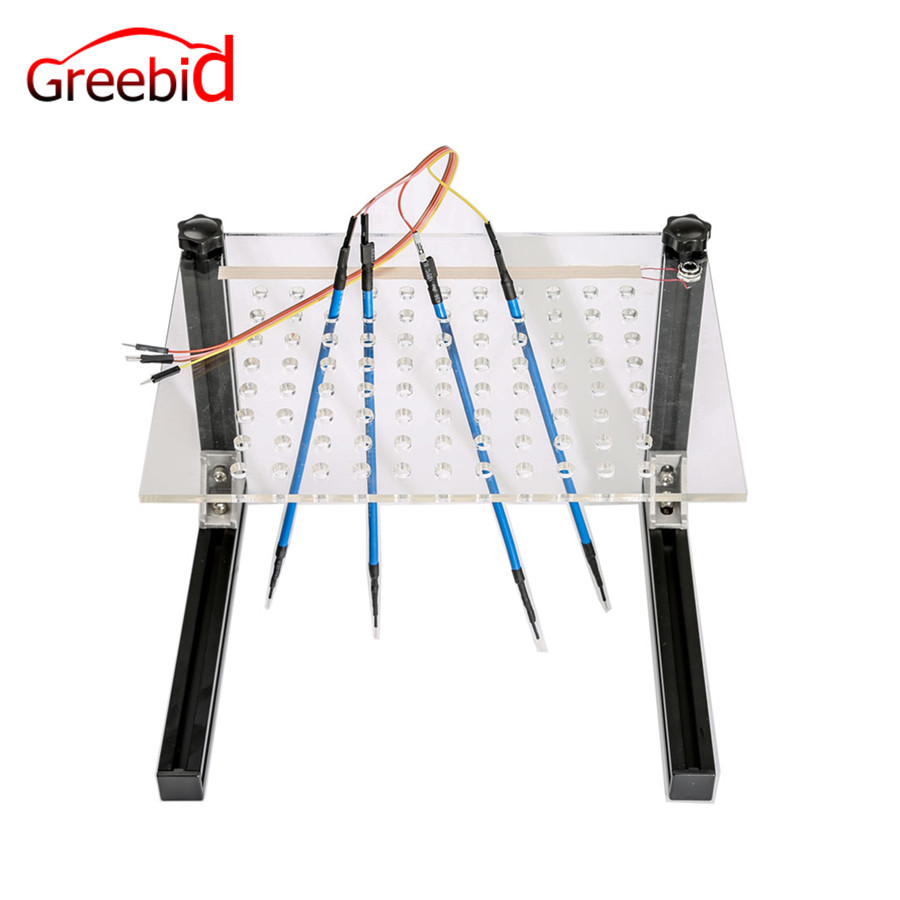 LED BDM Frame with Mesh and 4 Probe Pens ECU Programmer Tool