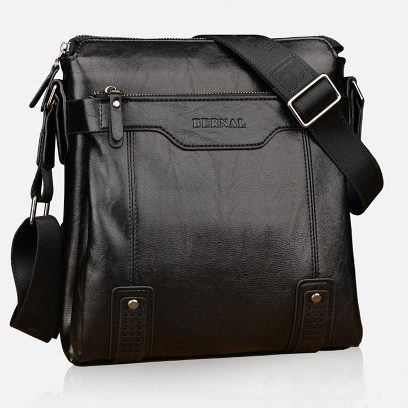 2016 luxury brand design men bag casual men messenger bags vintage Leather Men s business briefcase