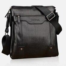 Design da marca de luxo homens saco negócio pasta dos homens de couro casual homens sacos do mensageiro do vintage bolsa de ombro