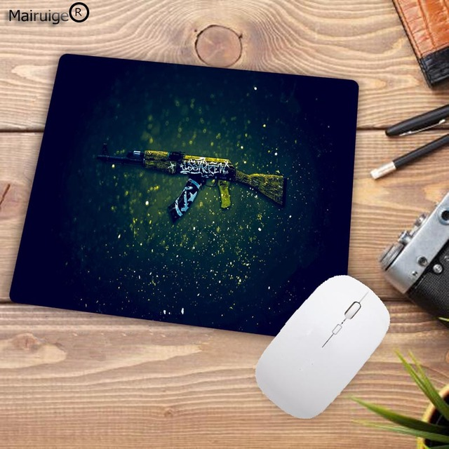 Mairuige Big Promotion Rubber Anti-slip Counter Strike Mice Mat DIY Computer Gaming Mouse Pad Cs Go Rubber 22X18CM 4