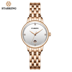 Image 2 - STARKING Luxury Fashion Women Watches Stainless Steel Relojes Mujer Dress Lady Watch Quarts Wrist Watches 2019 NEW